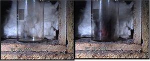 Graphite oxide - Image: GO exfoliation
