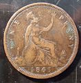 GREAT BRITAIN, VICTORIA 1863 -PENNY a - Flickr - woody1778a.jpg