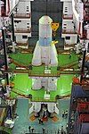 GSLV F11- First stage integration activities.jpg