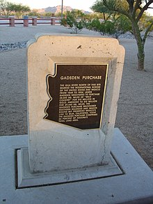 Gadsden Purchase - Wikipedia, the free encyclopedia