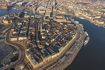 The Old Town of Stockholm (Gamla stan ) Gamla stan February 2013 01.jpg