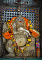 Ganesha Sculpture in white marble, Udaipur City Palace Rajasthan.jpg