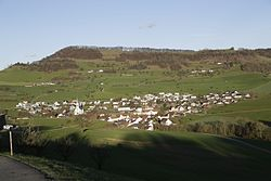 Skyline of Gansingen