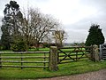 Garden gate, Newlands Farm - geograph.org.uk - 1768626.jpg