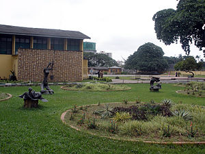 Nigerian National Museum - View of the museum's exterior