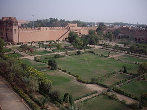 Junagarh Fort - Gardens within the fort's precincts