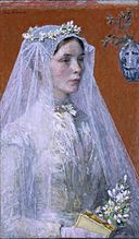 Gari Melchers - The Bride (c.1907).jpg