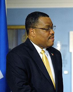 Garry Conille Prime Minister-designate of Haiti