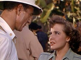 Gary Cooper en Laraine Day in The Story of Dr. Wassel