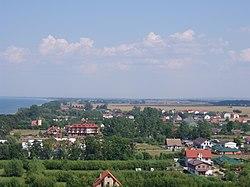 Gaski (gm.Mielno) panorama