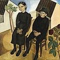 Gaston en zijn zuster, Gustave Van de Woestyne, 1923, Koninklijk Museum voor Schone Kunsten Antwerpen.jpg