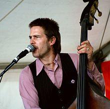 Gavin Shoesmith con The Groovesmiths, Curtin University, Perth, agosto de 2007