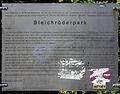 Gedenktafel Bleichröderpark (Panko) Bleichröderpark.jpg