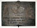 Gedenktafel Hinter der Katholischen Kirche 3 (Mitte) Konrad Graf von Preysing.jpg