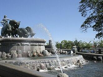 Anders Bundgaard - Anders Bundgaard: Gefion Fountain, Copenhagen (1908)