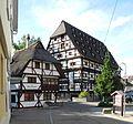 Geislingen an der Steige - Kornschreiberhaus 1397 links, Alter Bau 1425.JPG