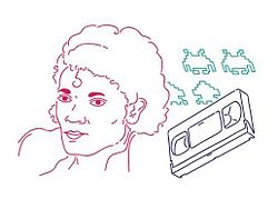 f7c487853aa This illustration shows three cultural touchstones for Generation X  singer  Michael Jackson