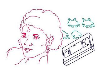 Generation X - This illustration shows three cultural touchstones for Generation X: singer Michael Jackson, who dominated pop charts in the 1980s; alien characters from the popular arcade video game Space Invaders; and a videocassette, which revolutionized home entertainment by enabling TV viewers to record shows and watch prerecorded movies at home.