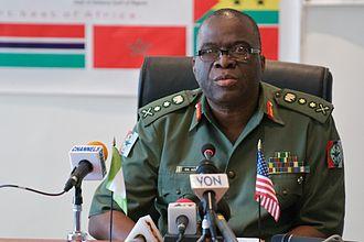 Chief of Army Staff (Nigeria) - Image: General Owoye Azazi 2008