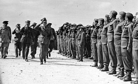 General Sikorski visiting Polish soldiers in Tobruk General Sikorski visit.jpg