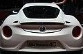 Geneva MotorShow 2013 - Alfa-Romeo 4C grey rear.jpg