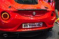 Geneva MotorShow 2013 - Alfa-Romeo 4C red rear.jpg