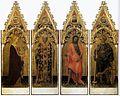 Gentile da Fabriano - Four Saints of the Poliptych Quaratesi - WGA8553.jpg