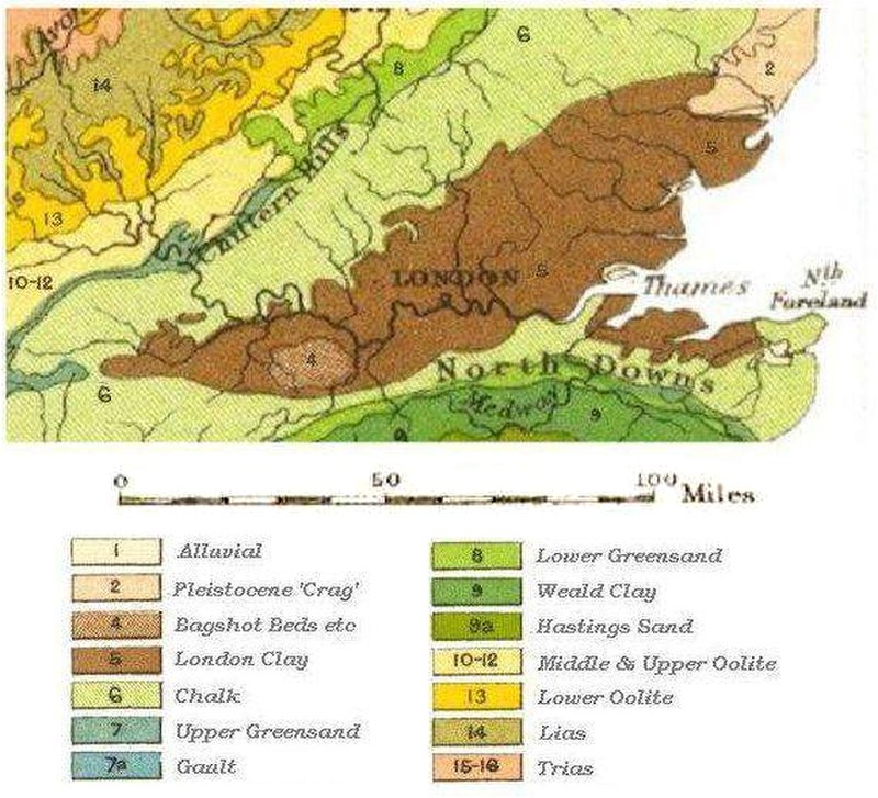 London Clay Formation Properties