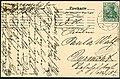 Georg Kugelmann PC 0000 Verlag von Fritz Otto, Hannover, Buschstraße, Adressseite 1911 an Fräulein Paula Wulf, Pyrmont ....jpg