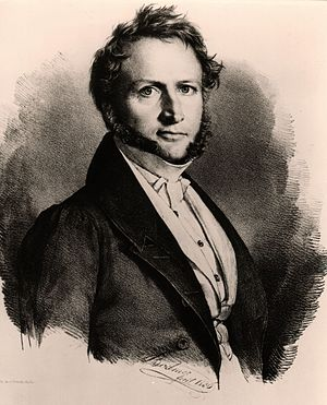 Georg Ludwig von Maurer - Georg Ludwig von Maurer in an 1836 lithograph by Gottlieb Bodmer