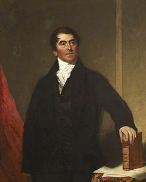 George Birkbeck - George Birkbeck by Samuel Lane. Oil, 1830.