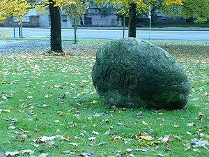 George Brecht - Void Stone, 1987, Arp-Museum, Rolandseck