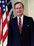 George H.W. Bush 1989.