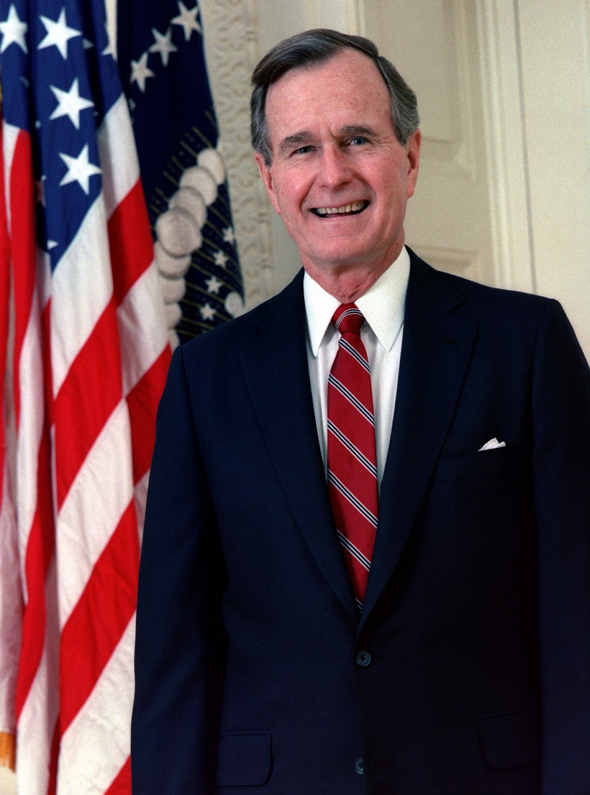 George H W Bush Wikipedia - Wiki us presidents