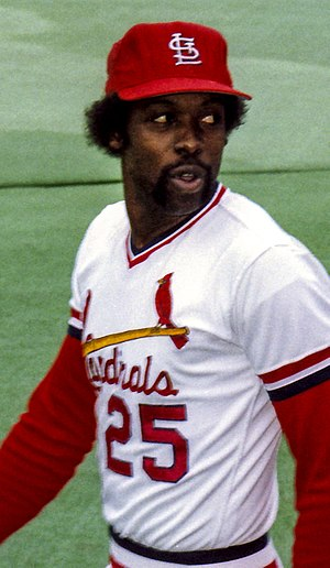 George Hendrick - Hendrick with St. Louis Cardinals in 1983