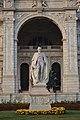 George Nathaniel Curzon - Marble Statue By Frederick William Pomeroy - Victoria Memorial Hall - Kolkata 2018-02-17 1305.JPG