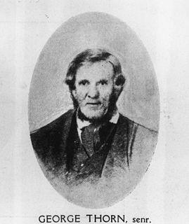George Thorn (senior) politician in Queensland, Australia
