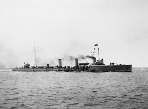 German Imperial Navy Zerstörer Typ G 101 underway c1916.jpg