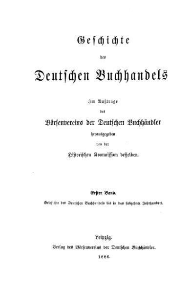 File:Geschichte des Dt Buchhandels 1 00.djvu