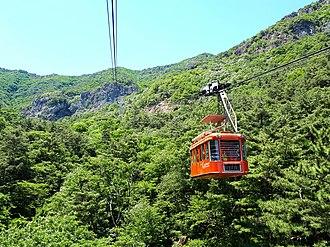 Gumi, North Gyeongsang - Geumo Mountain cable car