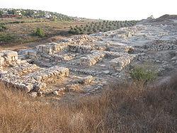 Porte de la ville de Gezer
