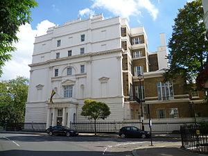 High Commission of Ghana, London - Image: Ghana High Commission London