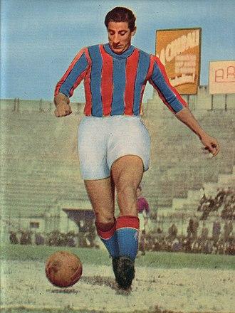 Gino Cappello - Image: Gino Cappello 1951 Bologna FC