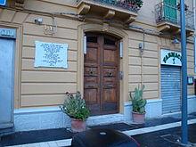 La casa di Giorgio La Pira a Messina.