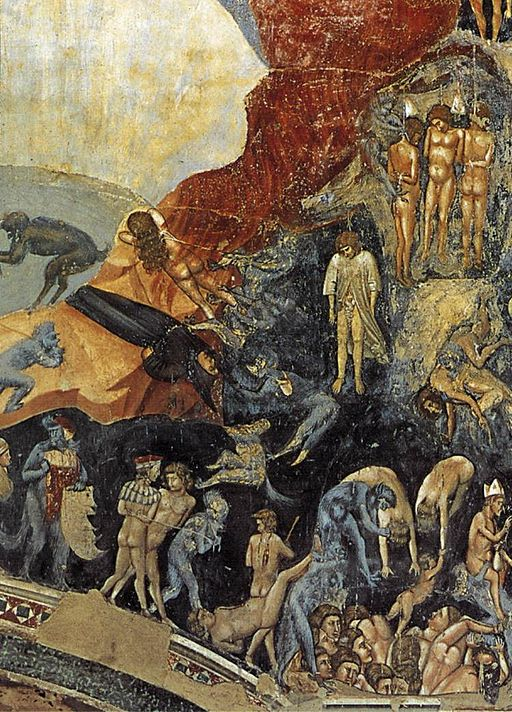 Giotto di Bondone - Last Judgment (detail) - WGA09242