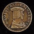 Giovanni Maria Pomedelli, Charles V, 1500-1558, King of Spain 1516-1556, Holy Roman Emperor 1519 (obverse), NGA 44638.jpg