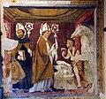 Giovanni e Bernardino da Asola, miracolo di sant'eligio e altri due santi vescovi, 1510 ca.jpg