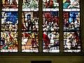 Gisors (27), collégiale St-Gervais-et-St-Protais, collatéral nord, verrière n° 23 - vie des saints Crépin et Crépinien 10.jpg