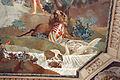 Giuseppe Antonio Fabbrini con Minerva che presenta Pietro Leopoldo alla Toscana 07 leone con stemma lorena e cigni.JPG