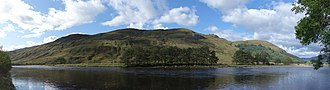 Glen Orchy - A view of Glen Orchy with the River Orchy in the foreground